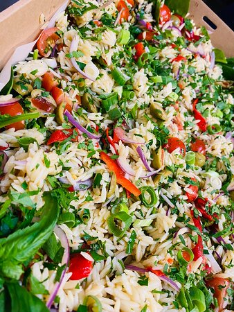 Mediterranean orza salad