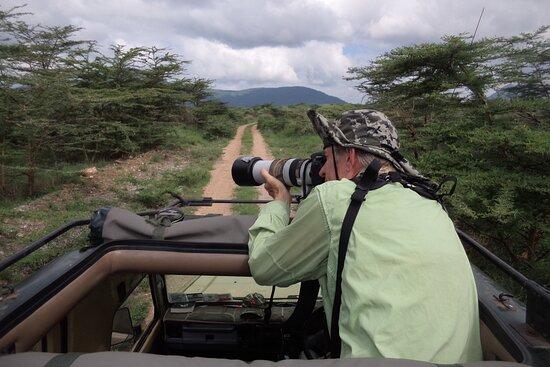 Liz B birding Safari
