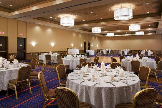 Baldwin Park, كاليفورنيا: Sierra Madre Ballroom - Banquet Setup