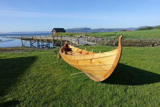 Boat built at the museum