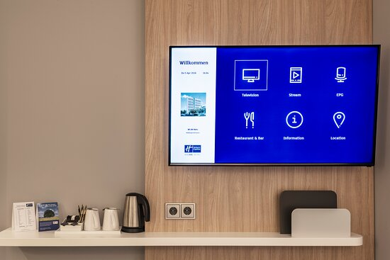 very smart TV indeed - all relevant information at your fingertips