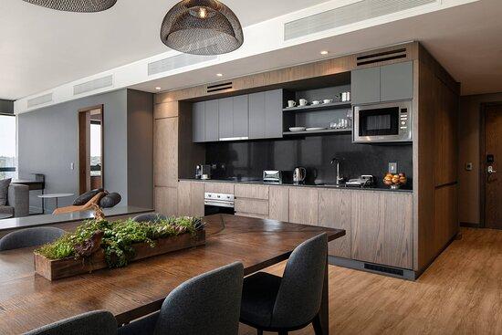 Three-Bedroom Apartment - Kitchen & Dining Room