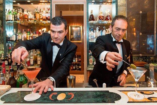 Bar Longhi - Head Barman Cristiano Luciani And Barman Mirko Falconi