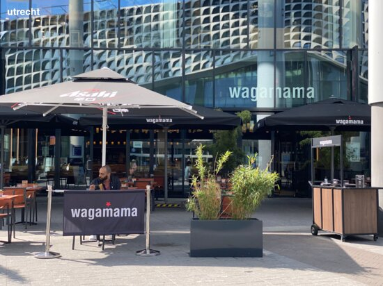 the outside of wagamama utrecht