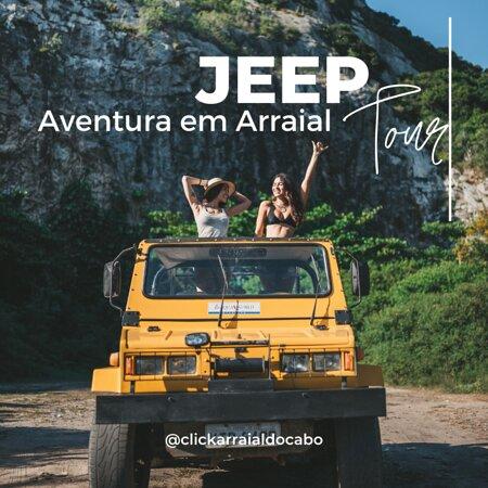 Arraial do Cabo, RJ: Passeio de Jeep nas Dunas com @clickarraialdocabo, confira   Se você gosta de aventura, mas também presa o conforto, esse passeio é a sua cara! Recomendado para casais, amigas e grupos de até 4 pessoas.  Buscamos e levamos nossos clientes hospedados dentro de Arraial.  DURAÇÃO 2h - 2:20h  ROTEIRO Praia do Pontal - Praia do Foguete - Praia das Dunas - Duna Mãe (Cabo Frio) - Lagoa Barra Nova - Morro do Miranda (Pedreira).  SAÍDAS DIÁRIAS: 7h - 9:30h - 16:20h  RESERVAS - (11) 99807-4585
