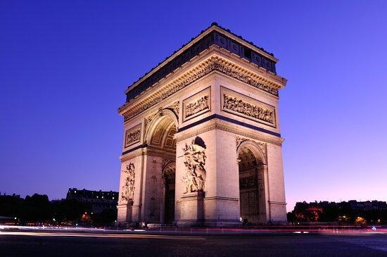 Παρίσι, Γαλλία: Arco del Triunfo