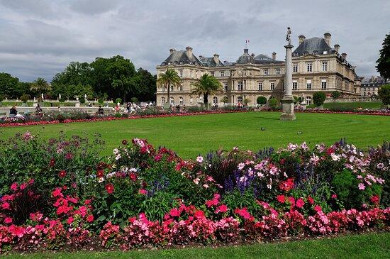 Παρίσι, Γαλλία: Jardines de Luxemburgo