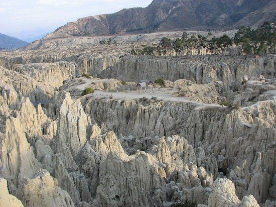 San Jose de Chiquitos, Bolivia:  Valle De La Luna-Bolivia