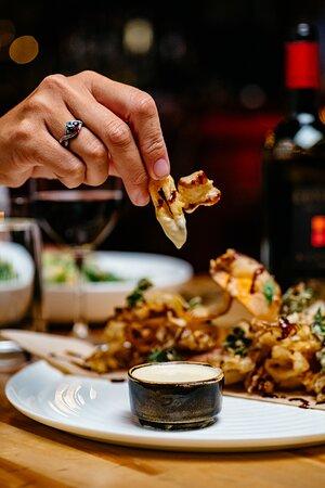calamari & vegetable fritti