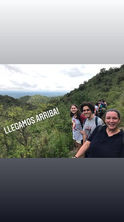 Gran experiencia en las Sierras Chicas. Increíble!