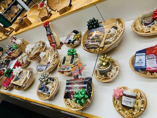 Some of our pre-made gift bowl sets! You can pick one of these up, or make your own online, in-store, or over the phone!