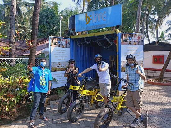 BLive Electric Bike Tours – Village Vistas of Cansaulim Photo