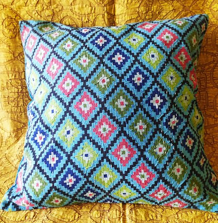 Handmade kantha work Cushion covers