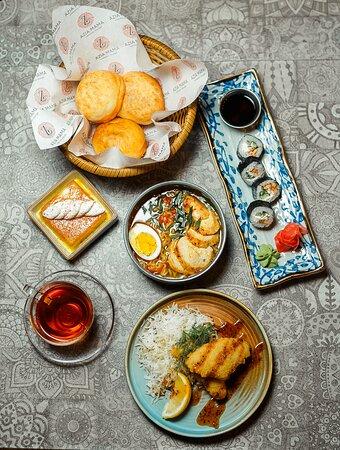Японский ланч/Japanese lunch