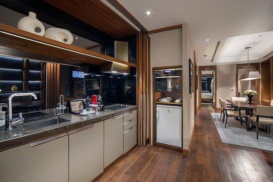 Bomonti Home Suite Kitchenette