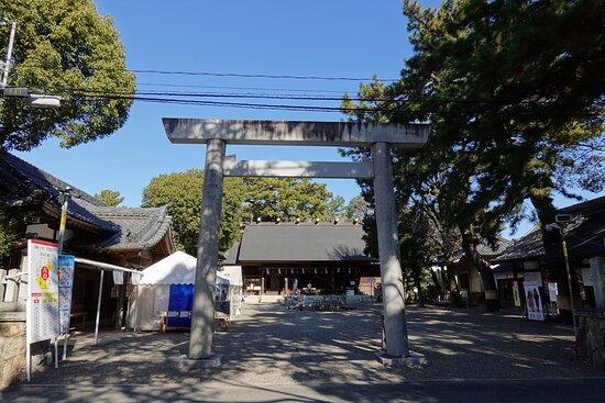 豊橋市・安久美神戸神明社
