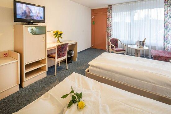 Delux Doppelzimmer mit Sitzecke