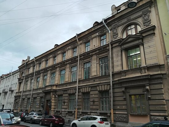 The Building of the St. Petersburg World Congress and the Orphan's Court