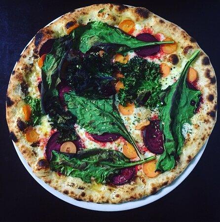 pizza do Bispo do outono