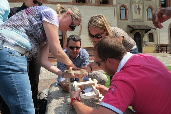 Team Building at the Sforza Castle in Milan