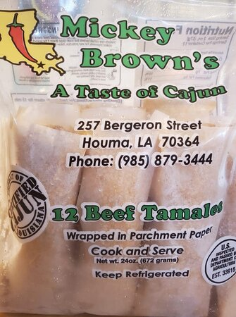 Mickey Brown's Beef Tamales