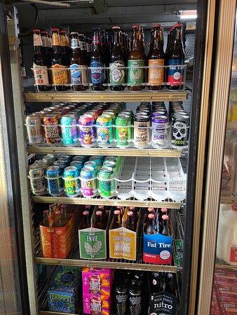 Craft beer singles and 6 packs