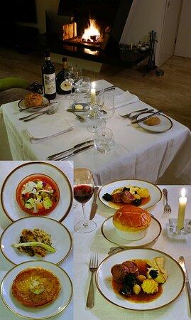Driebergen, Hà Lan: 4-course takeaway menu from La Provence