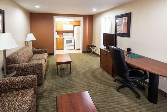 Suite with added amenities