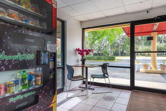 Hotel vending area