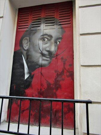 Παρίσι, Γαλλία: Salvador Dali