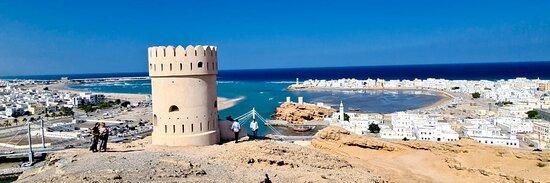 المنطقة الشرقية, عمان: Al Ayjah Watch Tower in Sur, Oman