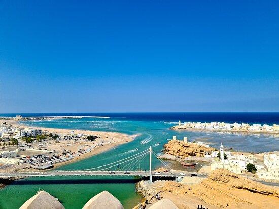 المنطقة الشرقية, عمان: Al Ayjah Bridge in Sur, Oman