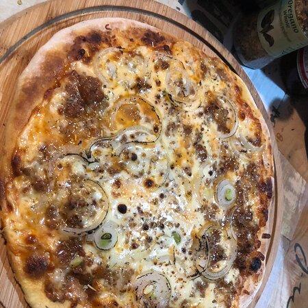 Pizza homemade 🍕♨️ Thai food Europe food Isan