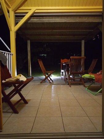 Guadeloupe: Zorkidés Jôn : Terrasse