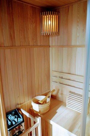 Gras, France: Sauna