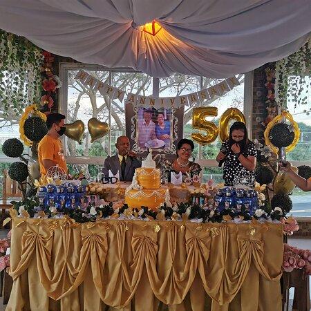 Congratulations on your 50th wedding anniversary Tatay Narciso & Nanay Bibiana🙏💒♥️