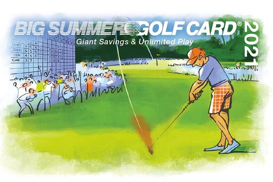 ‪BIG SUMMER GOLF CARD‬