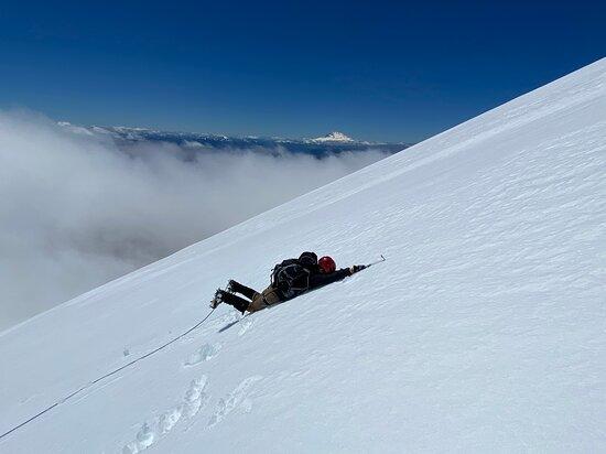 Osorno Volcano.: jugando!