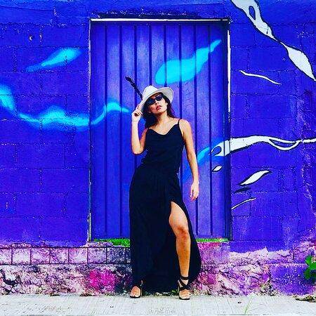 vestido negro estilo tulum