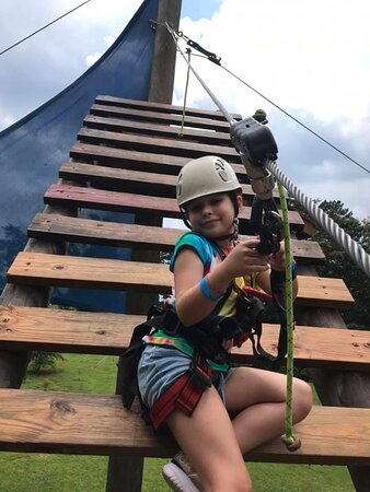 Kid Zip is a perfect adventure for our youngest flyers!  (Ages4-10)