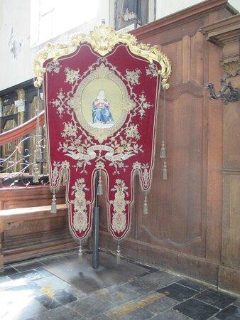 Leuven, Sint-Geertruikerk, religious vestment