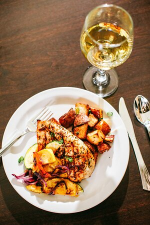 Chicken and Oven Potatoes