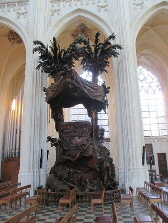 Leuven, Saint Peter's Church, pulpit
