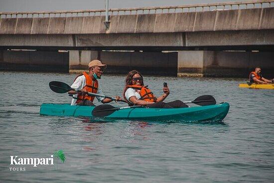 What To Do In Lekki,Lagos, Nigeria; Kayaking