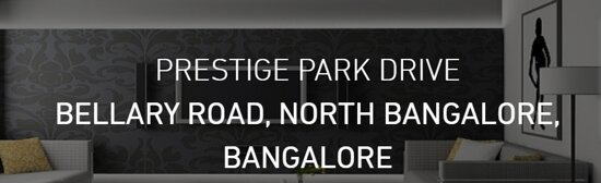 Bengaluru, India: Prestige Park Drive Plots offers brand new luxury residential plots in best price. Visit - https://www.prestigeparkdrive.gen.in/price.html