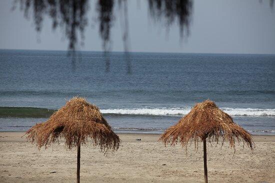 Palm Grove Beach Resort on Ashvem Beach