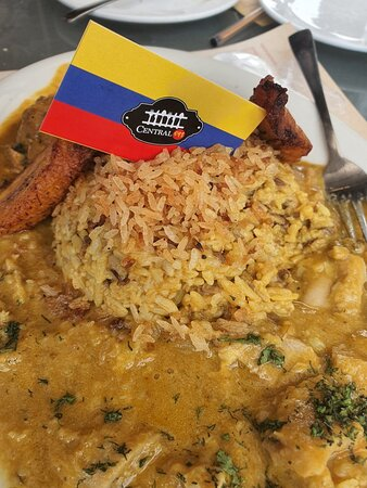 Variado menú Ecuatoriano