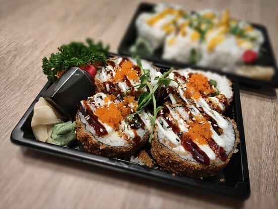 Chicken Katsu with Cheese roll