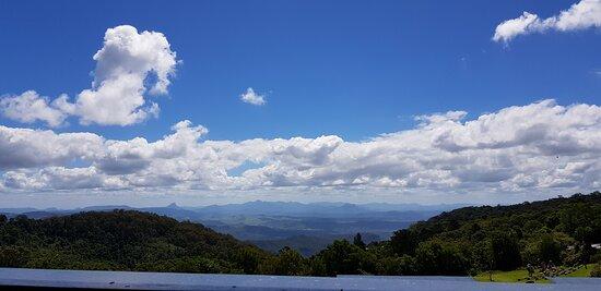 View from guesthouse verandah