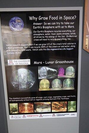 Biosphere 2 General Admission Ticket: wHY GROW fOOD IN sPACE
